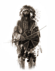 Bad Hand - Native American actor, writer, model and historian